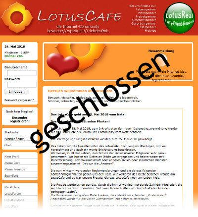 lotuscafe screenshot